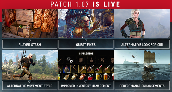 The Witcher 3 - Wild Hunt: Patch 1 07 und Gratis-DLC